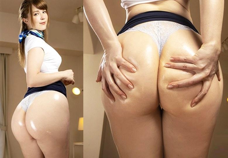 リピーター続出!ニッポンのおもてなし文化に感銘を受けたブロンド女神がスーパーヘビー級の太ももとデカ尻で日本人ち○ぽを射精へと導く密着肉感エステ
